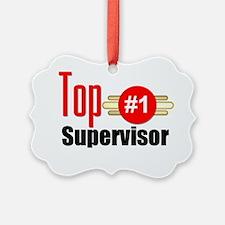 Top Supervisor  Ornament