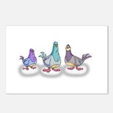 GoodFeathers are Angry Bi Postcards (Package of 8)