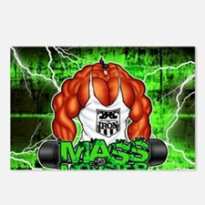 MUSCLEHEDZ - MASS MONSTER Postcards (Package of 8)
