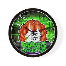 MUSCLEHEDZ - MASS MONSTER! Wall Clock