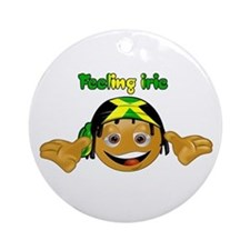 Feeling Irie Ornament (Round)