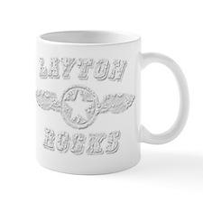 LAYTON ROCKS Mug
