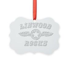 LINWOOD ROCKS Ornament