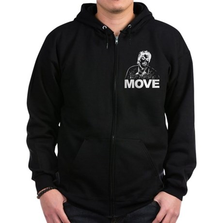 Move (on Dark) Zip Hoodie (dark)