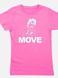 Move (on Dark) Girl's Tee