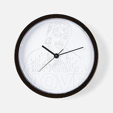 Move (on Dark) Wall Clock