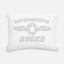 ASTROPHYSICS ROCKS Rectangular Canvas Pillow