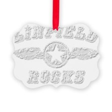 LINFIELD ROCKS Ornament