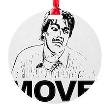 Move Black Ornament