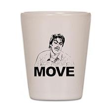 Move Black Shot Glass