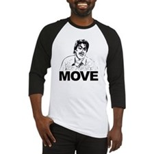 Move Black Baseball Jersey