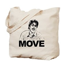 Move Black Tote Bag