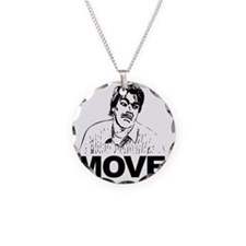 Move Black Necklace