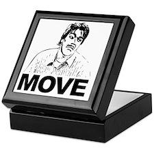 Move Black Keepsake Box