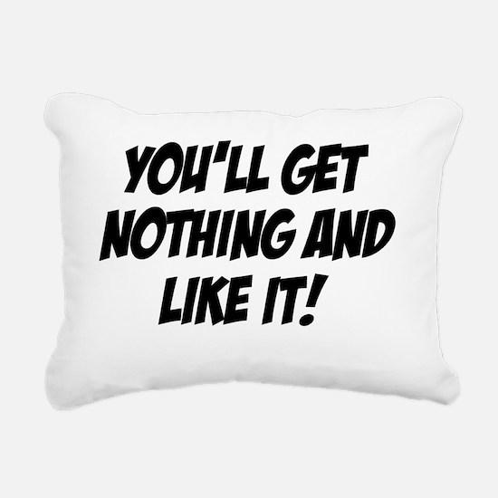 Judge Smails Rectangular Canvas Pillow