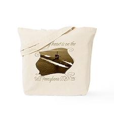 Unique Uss pennsylvania Tote Bag