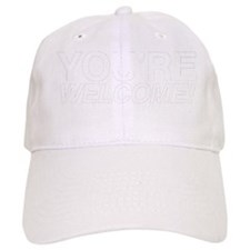 Welcome White Baseball Cap