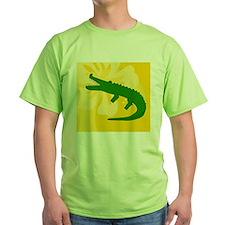 Alligator Beer Label T-Shirt