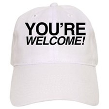 Welcome Black Baseball Cap