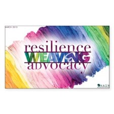 2013 Social Work Month Poster  Decal
