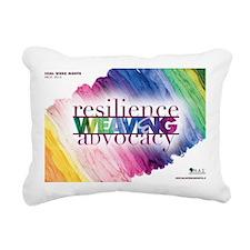 2013 Social Work Month 1 Rectangular Canvas Pillow
