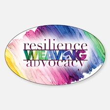 2013 Social Work Month 14x10 Sticker (Oval)