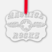 MAURICE ROCKS Ornament