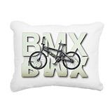 Bmx Rectangle Canvas Pillows