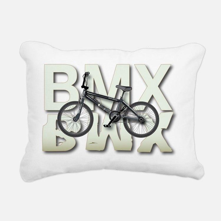BMX Graphite Bikes Graph Rectangular Canvas Pillow