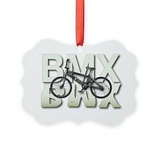 BMX Graphite Bikes Graphic Design Picture Ornament