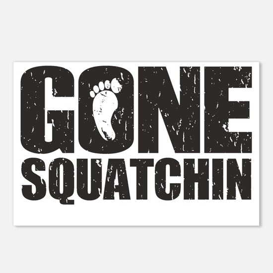 Gone Squatchin Postcards (Package of 8)