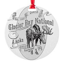 Glacier Bay Vintage Moose Ornament