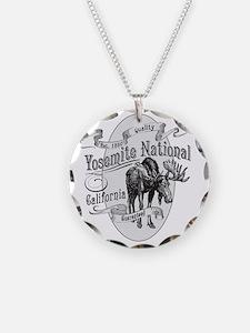 Yosemite Vintage Moose Necklace