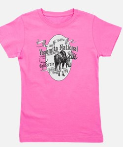 Yosemite Vintage Moose Girl's Tee