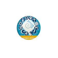 Tile Coaster Mini Button