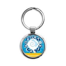 Ornament Round Keychain