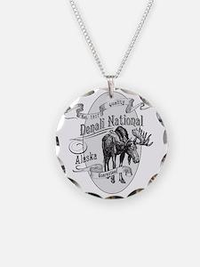 Denali Vintage Moose Necklace