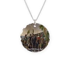 Christopher Columbus Lands Necklace