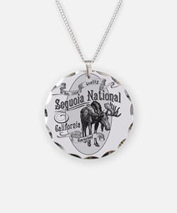 Sequoia Vintage Moose Necklace