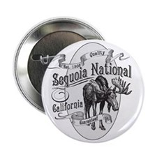 "Sequoia Vintage Moose 2.25"" Button"