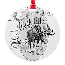 Black Hills Vintage Moose Ornament