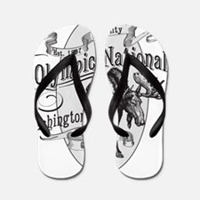 Olympic National Vintage Moose Flip Flops