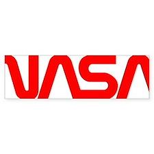 NASA Spider Logo Bumper Sticker