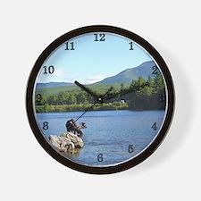 large  5 Wall Clock