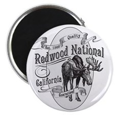 Redwood Vintage Moose Magnet