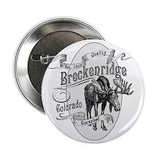 """Breckenridge Vintage Moose 2.25"""" Button"""