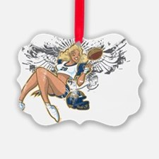 St. Louis Football Pin-Up Ornament