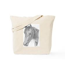Black Jack Paint Horse Tote Bag