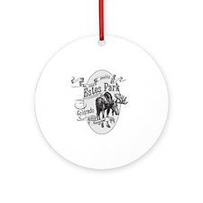Estes Park Vintage Moose Round Ornament
