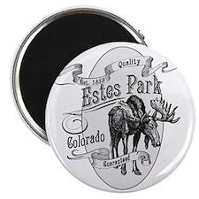 Estes Park Vintage Moose Magnet